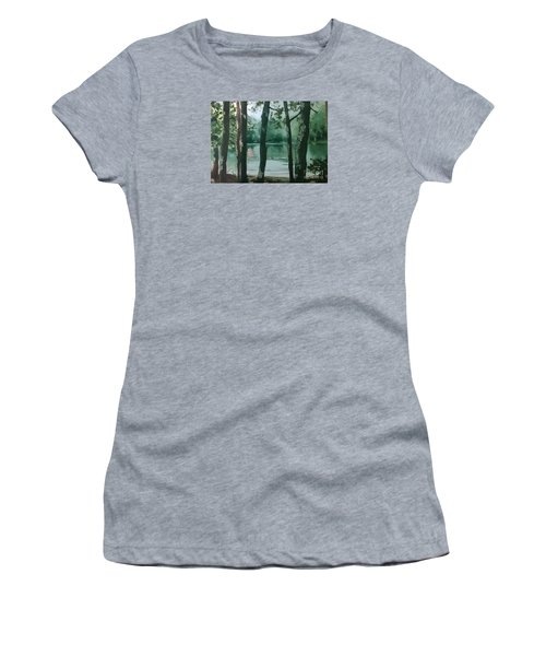 Swimming Hole Women's T-Shirt (Athletic Fit)