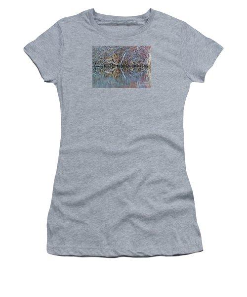 Symmetry Women's T-Shirt (Junior Cut) by Christian Mattison