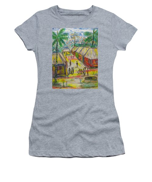Artwork On T-shirt - 0012 Women's T-Shirt (Athletic Fit)