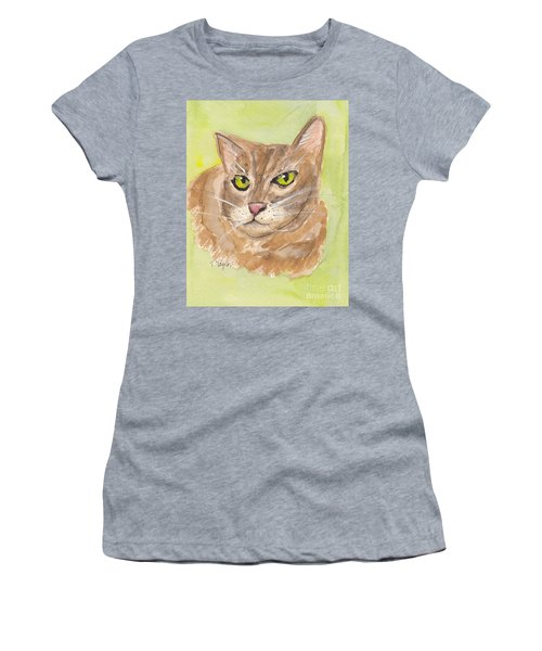 Tabby With Attitude Women's T-Shirt (Athletic Fit)