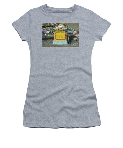 Taglang La Pass,17582 Feet Altitude, Ladakh, India Women's T-Shirt