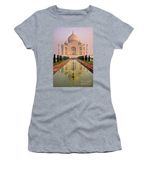 Taj Mahal At Sunrise Women's T-Shirt (Athletic Fit)