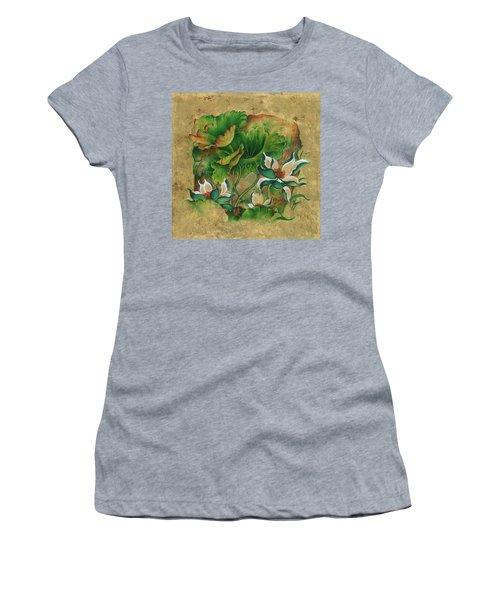 Talks About The Essence Of Life Women's T-Shirt (Junior Cut) by Anna Ewa Miarczynska