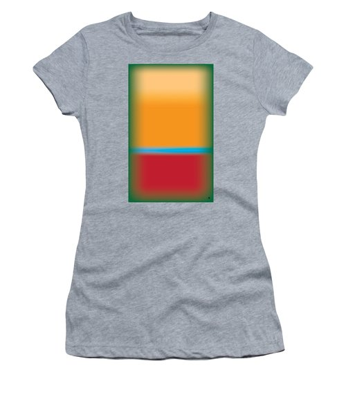 Tall Abstract Color Women's T-Shirt