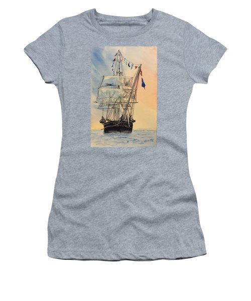 Tall Ship Women's T-Shirt (Athletic Fit)