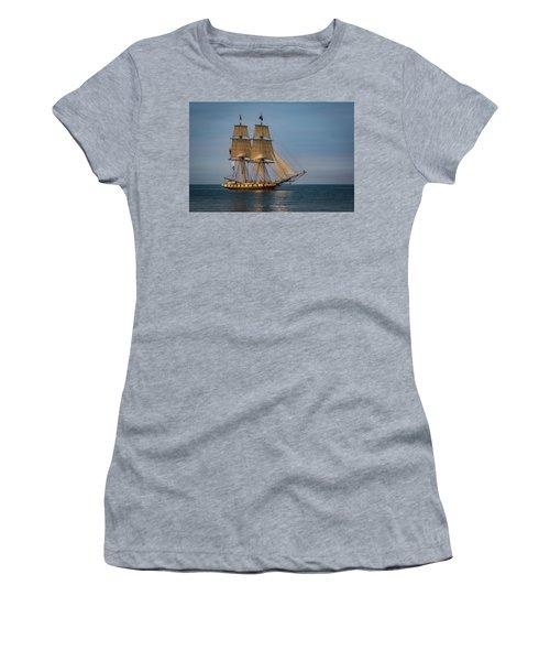 Tall Ship U.s. Brig Niagara Women's T-Shirt