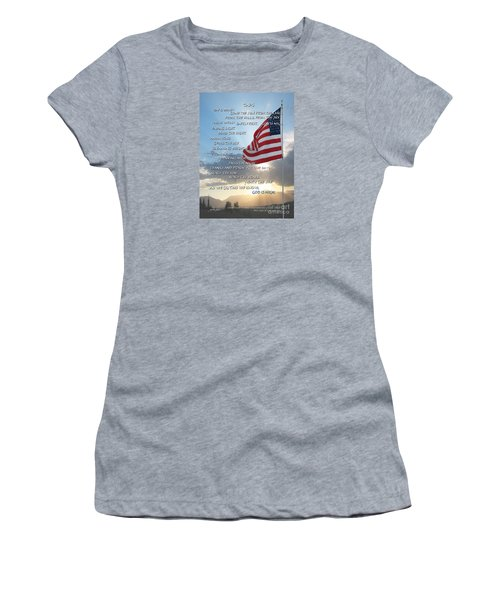Taps Words Women's T-Shirt