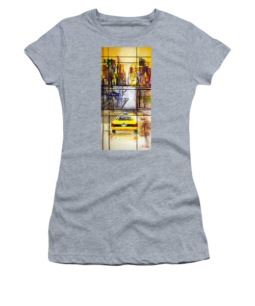 Taxi 7 Women's T-Shirt (Athletic Fit)