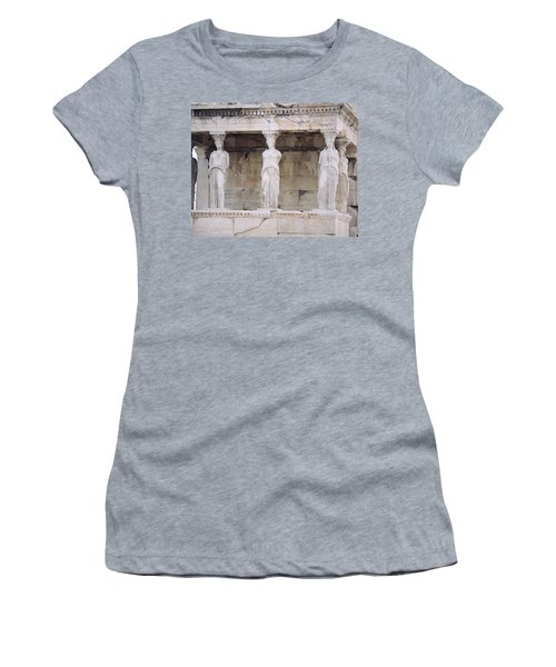 Temple Of Athena Nike Erectheum Women's T-Shirt