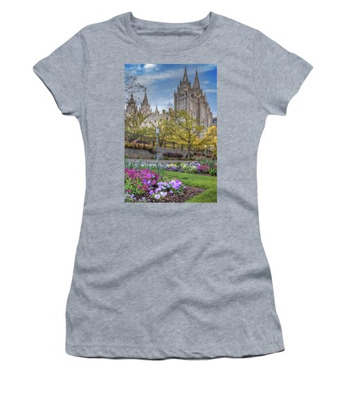 Temple Square Salt Lalke City Utah Women's T-Shirt
