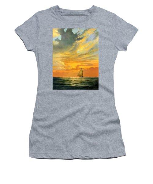 Ten Thousand Islands Women's T-Shirt (Athletic Fit)
