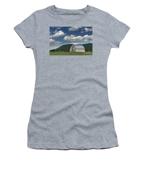 Tennessee Barn Quilt Women's T-Shirt (Athletic Fit)