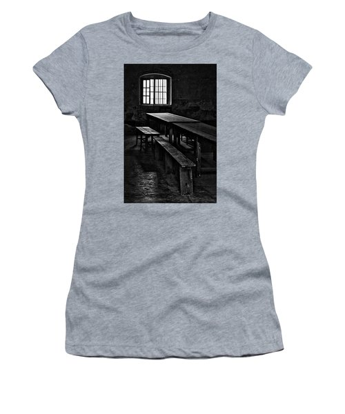 Terezin Tables, Benches And Window Women's T-Shirt