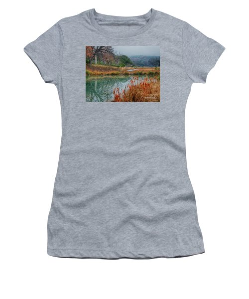 Texas Hill County Color Women's T-Shirt (Athletic Fit)