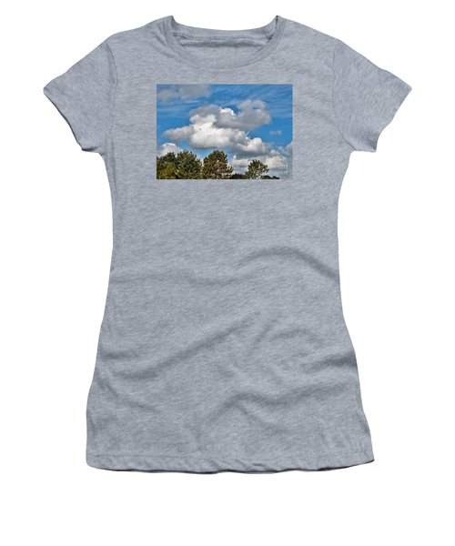 Women's T-Shirt (Junior Cut) featuring the photograph Texas - Reach For The Sky.   by Ray Shrewsberry