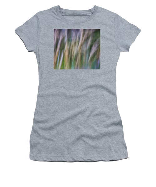 Women's T-Shirt featuring the photograph Textured Abstract by James Woody