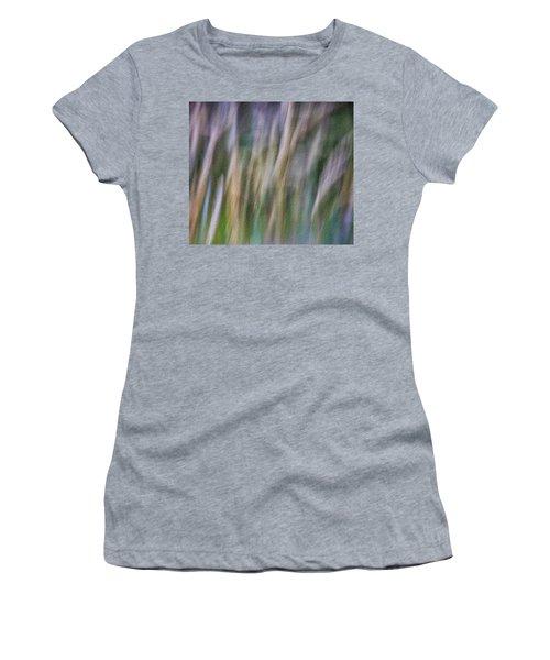 Textured Abstract Women's T-Shirt