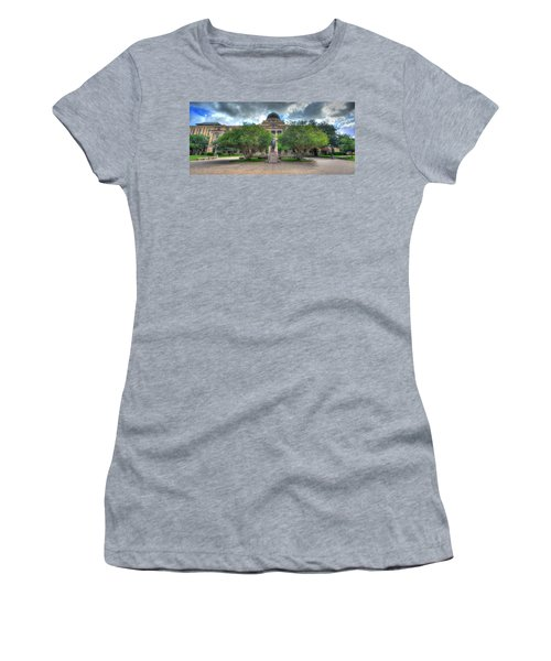 The Academic Building Women's T-Shirt (Athletic Fit)