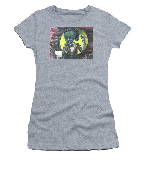 The Alien Lin-manuel Miranda Women's T-Shirt