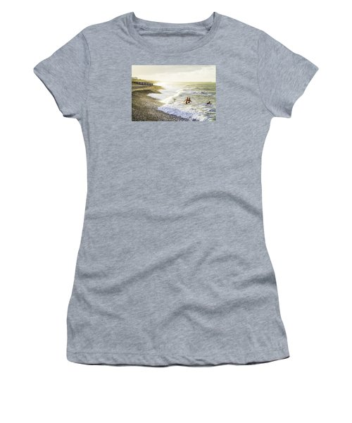 The Bathers Women's T-Shirt (Junior Cut) by Russell Styles
