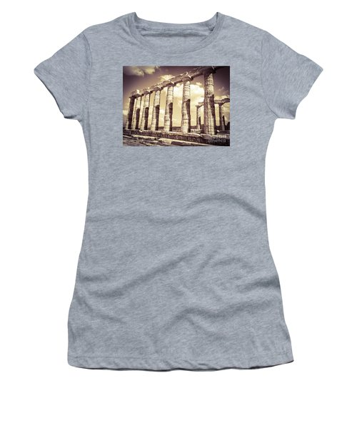The Beauty Of The Temple Of Poseidon Women's T-Shirt