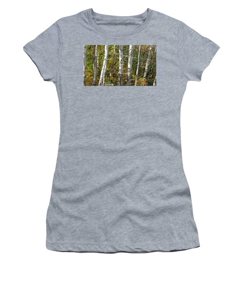 The Birches Women's T-Shirt (Athletic Fit)