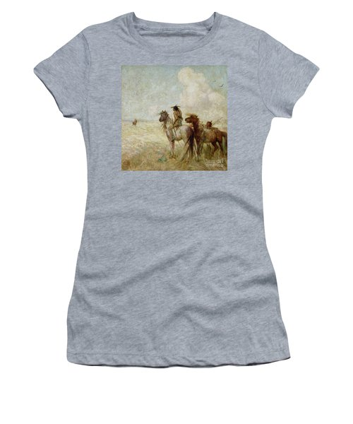 The Bison Hunters Women's T-Shirt
