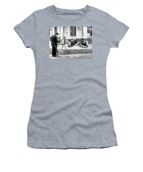The Blind Side Women's T-Shirt (Athletic Fit)
