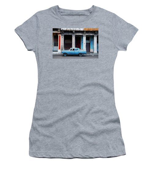 The Blue Car Women's T-Shirt (Athletic Fit)