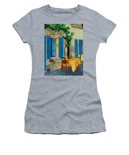 The Blue Shutters Women's T-Shirt (Athletic Fit)