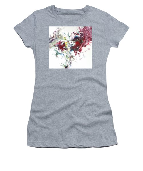 The Breath Of The Crimson Dragon Women's T-Shirt (Athletic Fit)