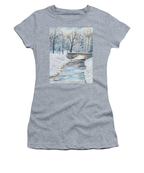 The Bridge Women's T-Shirt (Athletic Fit)