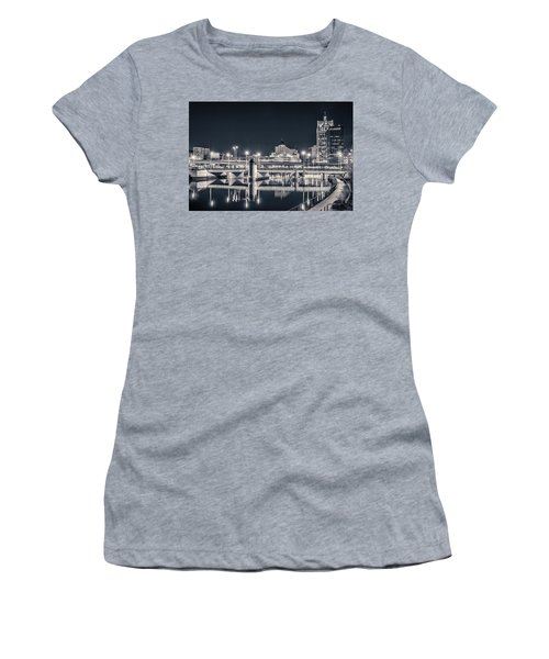 Women's T-Shirt (Junior Cut) featuring the photograph The Bright Dark Of Night by Bill Pevlor