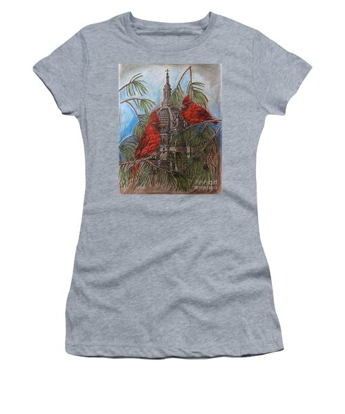 The Cardinals Visit St.pauls Cathedral Women's T-Shirt