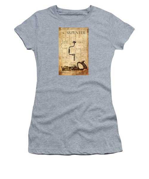 The Carpenter Women's T-Shirt (Junior Cut) by Greg Sharpe