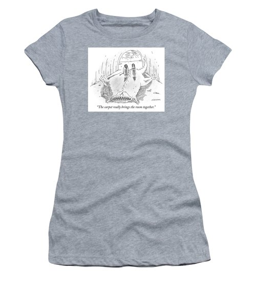 The Carpet Really Brings The Room Together Women's T-Shirt