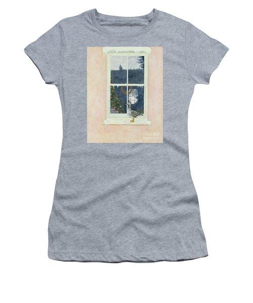 The Christmas Goose  Women's T-Shirt