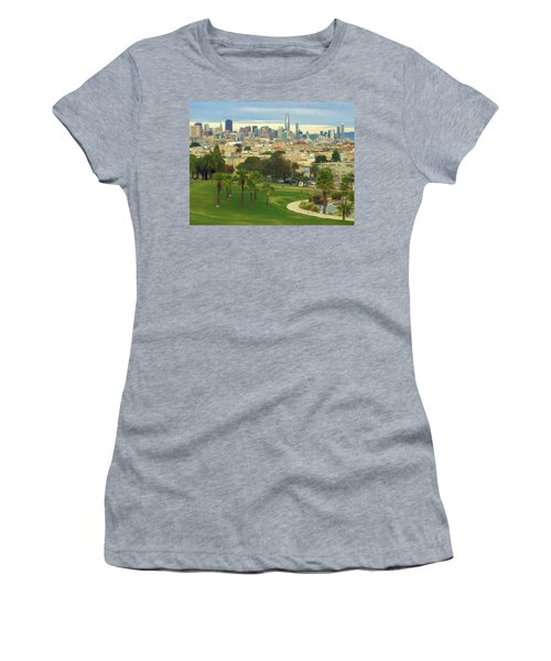 The City From Dolores Park Women's T-Shirt