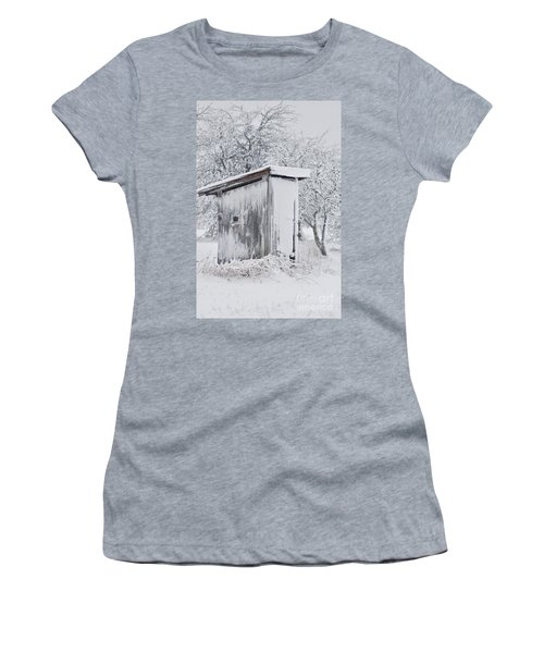 The Coldest Fifty Yard Dash Women's T-Shirt (Athletic Fit)