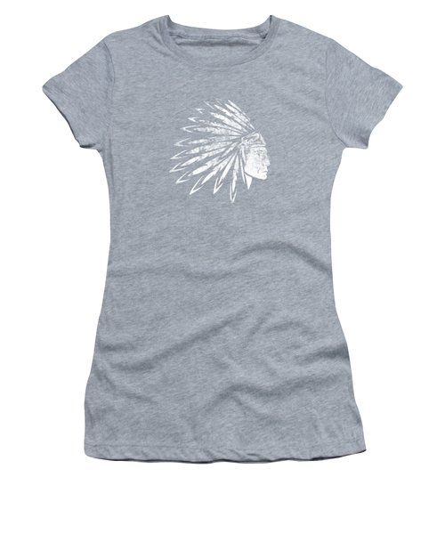 The Crying American Indian Women's T-Shirt (Athletic Fit)