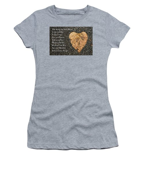 The Decay Of Heart Women's T-Shirt