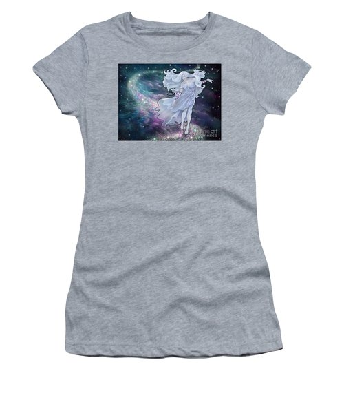 Women's T-Shirt (Athletic Fit) featuring the digital art The Emancipation Of Galatea by Amyla Silverflame