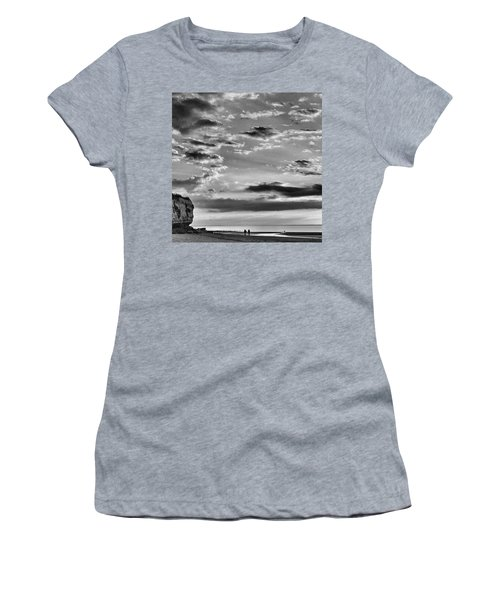 The End Of The Day, Old Hunstanton  Women's T-Shirt