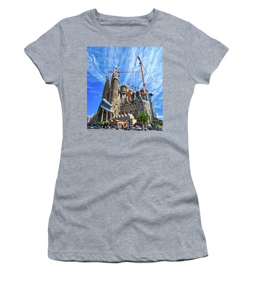 The Expiatory Temple Of The Holy Family Women's T-Shirt