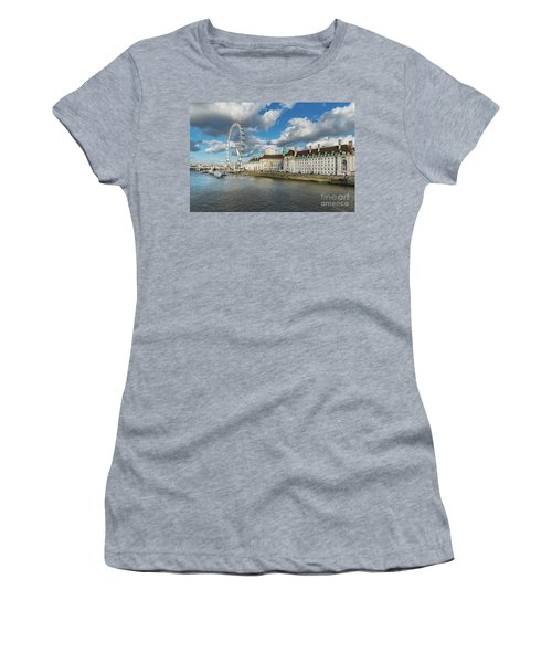 The Eye London Women's T-Shirt (Athletic Fit)