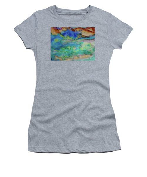 The Fog Rolls In Women's T-Shirt (Junior Cut) by Kim Nelson