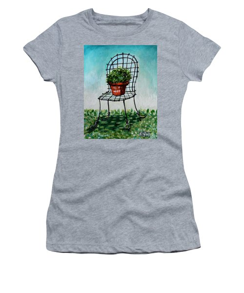 The French Garden Cafe Chair Women's T-Shirt