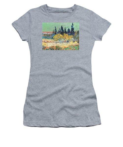 The Garden At Arles  Women's T-Shirt