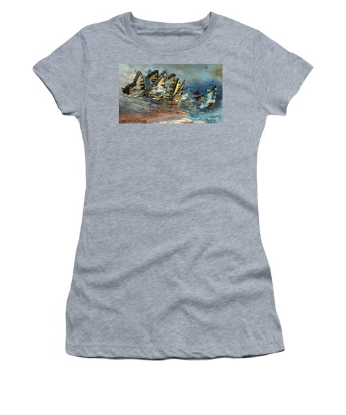 The Gathering Women's T-Shirt (Junior Cut) by Kathy Russell