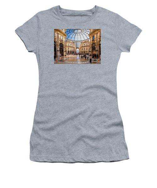 The Golden Hall Women's T-Shirt (Junior Cut) by Giuseppe Torre